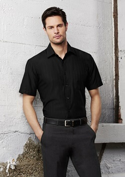 Biz Preston Mens Short Sleeve Shirt S312MS