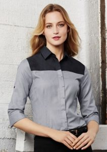 Biz Havana Ladies 3/4 Sleeve Shirt S503LT