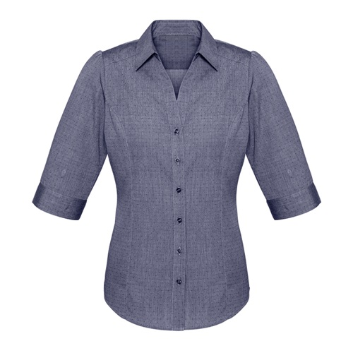 Biz Trend Ladies 3/4 Sleeve Shirt S622LT 4