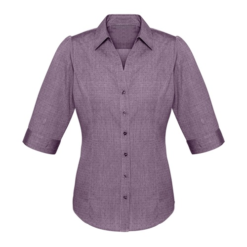Biz Trend Ladies 3/4 Sleeve Shirt S622LT 2