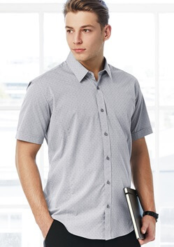 Biz Trend Mens Short Sleeve Shirt S622MS 1