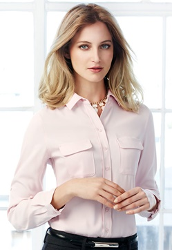 Biz Madison Ladies Long Sleeve Shirt S626LL 1