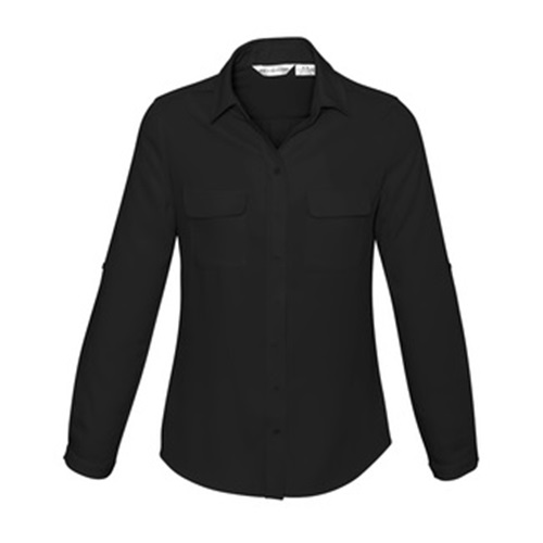 Biz Madison Ladies Long Sleeve Shirt S626LL 6
