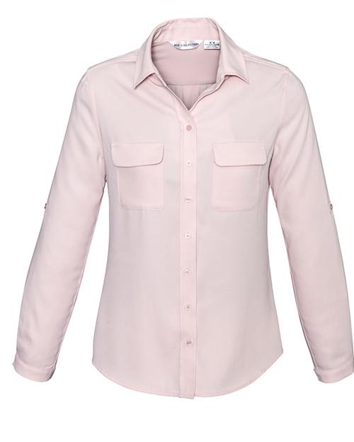 Biz Madison Ladies Long Sleeve Shirt S626LL 4