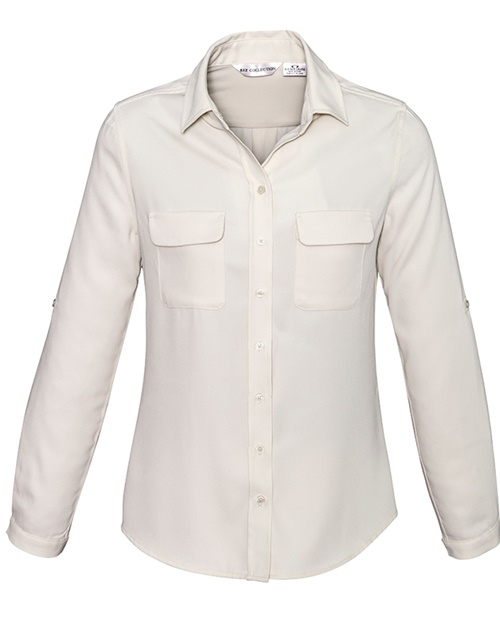 Biz Madison Ladies Long Sleeve Shirt S626LL 5