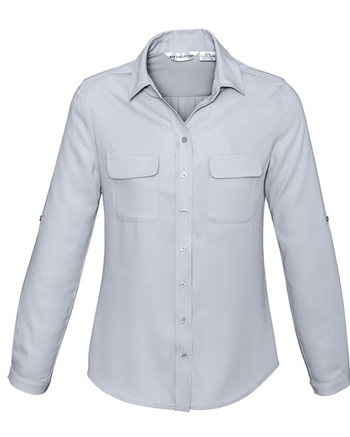 Biz Madison Ladies Long Sleeve Shirt S626LL 3