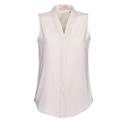 Biz Madison Ladies Sleeveless Blouse S627LN 5