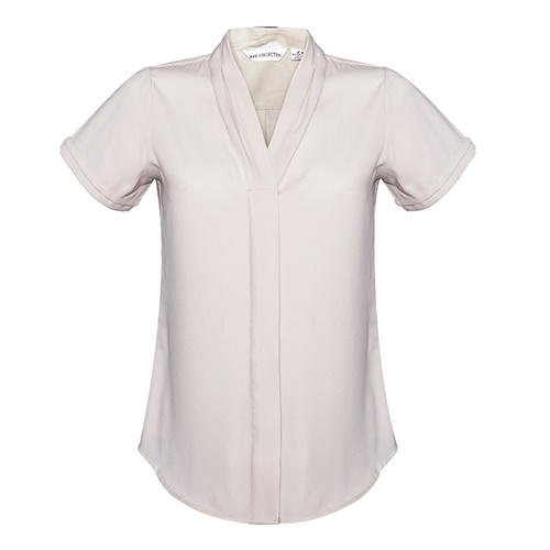 Biz Madison Ladies Short Sleeve Blouse S628LS 5