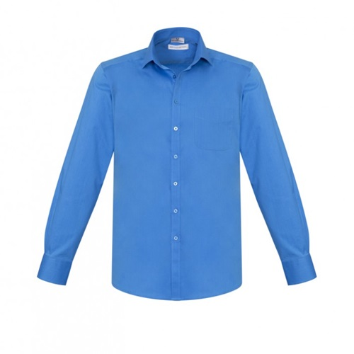 Biz Monaco Mens Long Sleeve Stretch Shirt S770ML