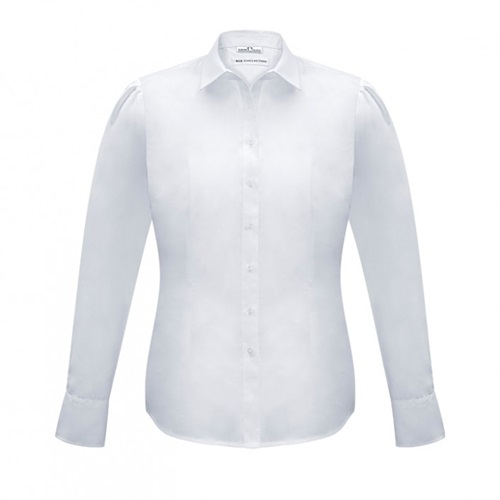 Biz Euro Ladies Long Sleeve Shirt S812LL 4