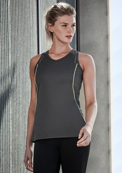 Biz Razor Ladies Sports Singlet SG407L 1