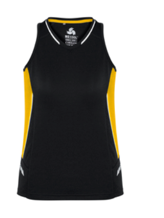 Biz Renegade Ladies Sports Singlet SG702L 2