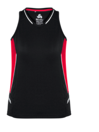 Biz Renegade Ladies Sports Singlet SG702L 3