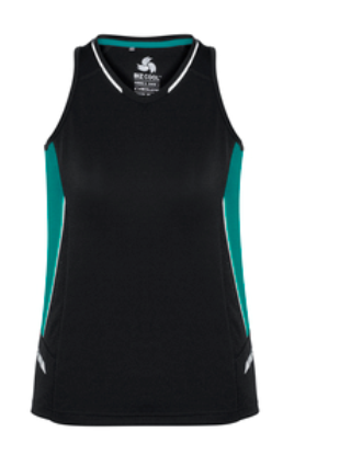 Biz Renegade Ladies Sports Singlet SG702L 4