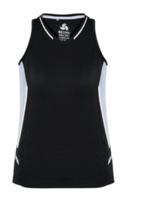 Biz Renegade Ladies Sports Singlet SG702L 5