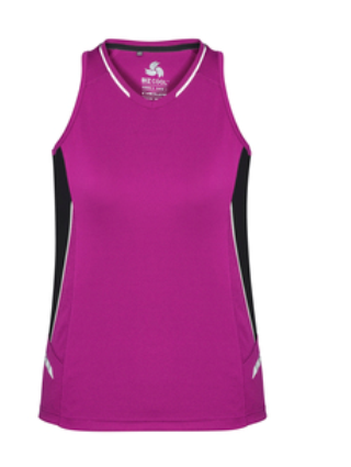 Biz Renegade Ladies Sports Singlet SG702L 6