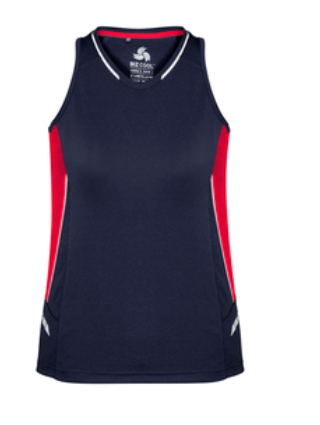 Biz Renegade Ladies Sports Singlet SG702L 7