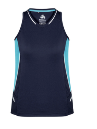 Biz Renegade Ladies Sports Singlet SG702L 9