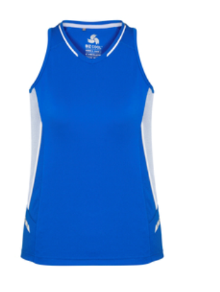 Biz Renegade Ladies Sports Singlet SG702L 11