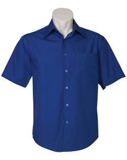 Biz Metro Mens Short Sleeve Shirt SH715 3