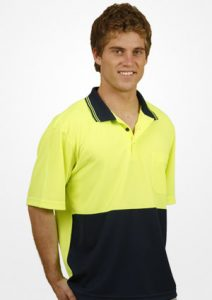 WS Hi Vis True Dry Short Sleeve Polo (S to 3XL) SW01TD