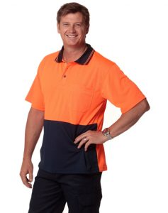 WS Hi Vis True Dry Short Sleeve Polo (S to 3XL) SW01TD 5