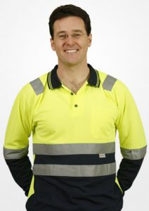 WS 3M Tape Safety Mens Long Sleeve Polo (S to 3XL) SW21