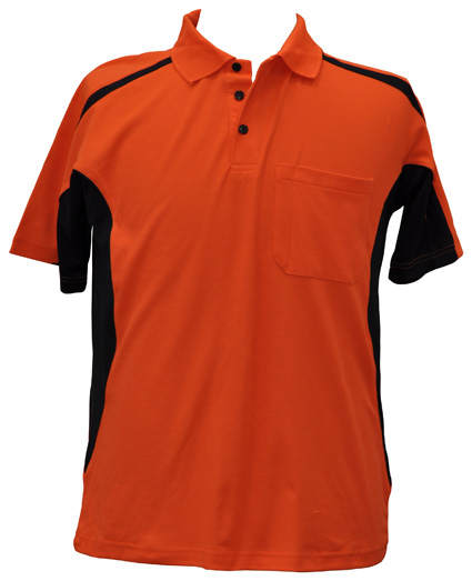 WS Hi-Vis Fashion Mens Polo SW25 2