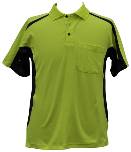 WS Hi-Vis Fashion Mens Polo SW25 3