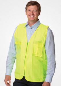 WS Hi Vis Safety Vest with ID Pocket SW41