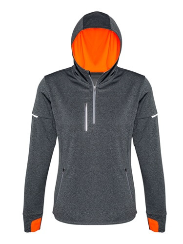 Biz Pace Ladies Biz Cool Athletic Warm Up Hoodie SW635L 2
