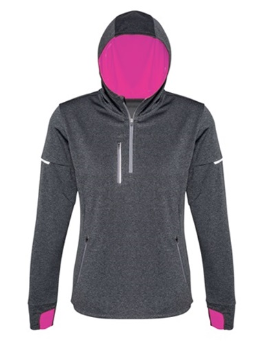 Biz Pace Ladies Biz Cool Athletic Warm Up Hoodie SW635L 4