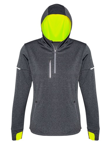 Biz Pace Ladies Biz Cool Athletic Warm Up Hoodie SW635L 3