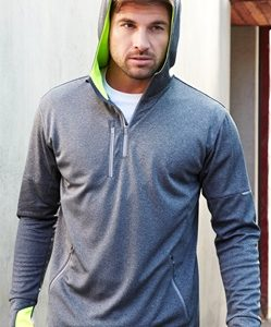 Biz Pace Mens Biz Cool Athletic Warm Up Hoodie SW635M