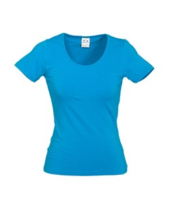 Biz Vibe Ladies Cotton Stretch Tee T29222 3