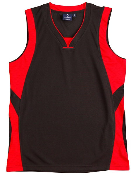 WS Slamdunk Adults Basketball Singlet TS83 2