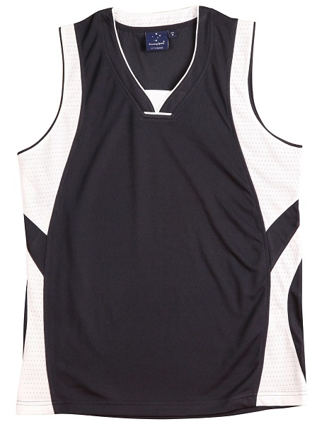 WS Slamdunk Adults Basketball Singlet TS83 3