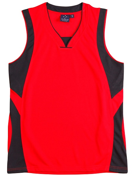 WS Slamdunk Adults Basketball Singlet TS83 4