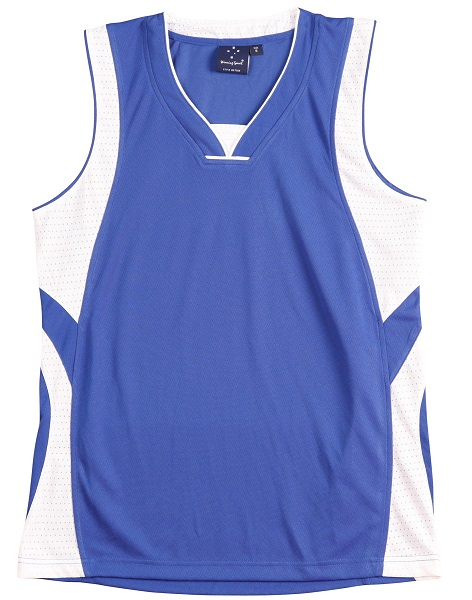 WS Slamdunk Adults Basketball Singlet TS83 5