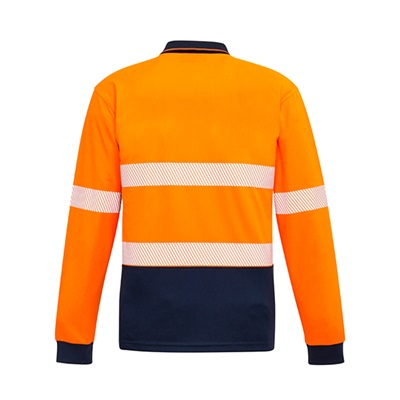 SYZ Unisex Hi Vis Long Sleeve Polo ZH530 3