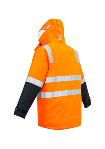SYZ Unisex Hi Vis 4 in 1 Water Proof Jacket ZJ532 2