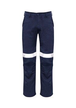 SYZ Mens Traditional Style Taped Work Pant ZP523