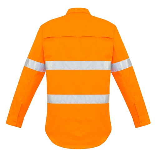 SYZ Hi Vis Hoop Taped Long Sleeve Shirt ZW640 3