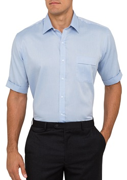 VH Mens Nail Head Classic Fit Short Sleeve Shirt B103