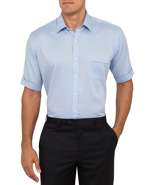 VH Mens Nail Head Classic Fit Short Sleeve Shirt B103 2