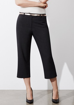 Biz Classic Ladies 3/4 Cropped Pant BS29321 1