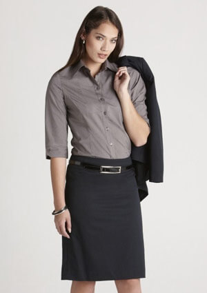 BC Ladies Cool Stretch Plain Bandless Skirt 20112