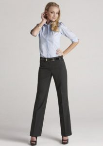 BC Ladies Wool Stretch Relaxed Fit Pants 14011
