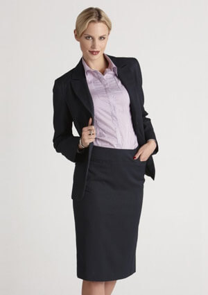 BC Ladies Cool Stretch Plain Relaxed Fit Skirt 20111