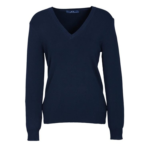 Biz V-Neck Ladies Pullover LP3506 4
